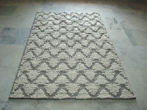 Hand Woven Protruded Carpets