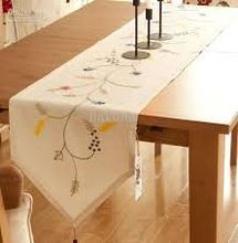 Cotton Table Runner For Decoration