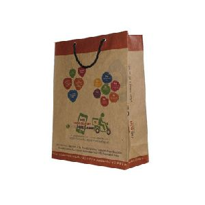 Shopping Printed Paper Promotional Bags