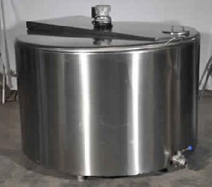 Solar Powered Milk Cooling Tank