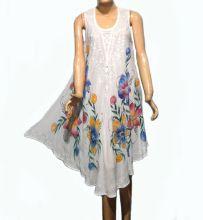 White Umbrella Dress