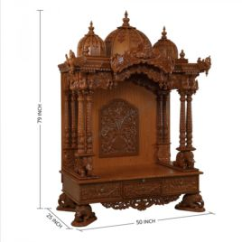 Beautiful Wooden Temple