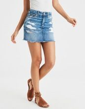 Denim Mini Skirt Jeans Short