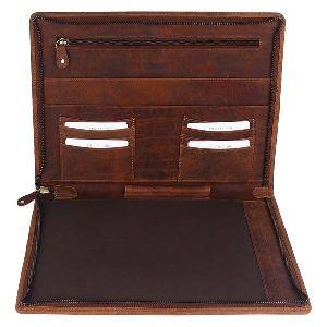 Leather Leather Folder For Men Women Gift
