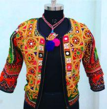 Vintage Ladies Designer Embroidery Banjara Jacket
