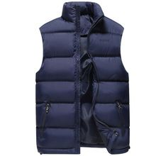 Winter Warm Sleeveless Polyester Jacket