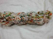 Recycled Cotton And Banana Silk Yarn