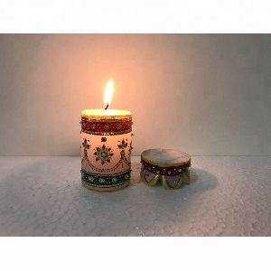 Luxury Scented Hand Painted Decorative Candles
