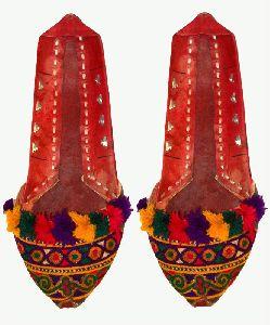 Wedding Traditional Indian Punjabi Shoes