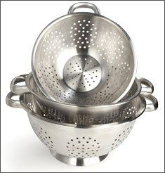 Colanders & Strainers Stainless Steel Kitchenware