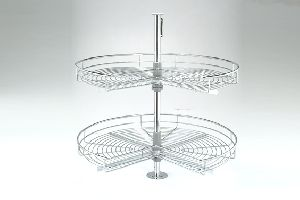 Modular Kitchen Stainless Steel Corners-d Tray