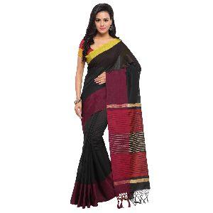 Black Silk Saree