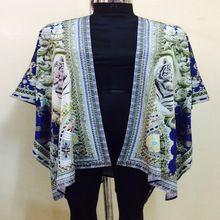 Resort Wear Cape Kimono Jacket