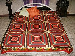 Applique Patchwork Embroidered Bedsheets-Bedspreads