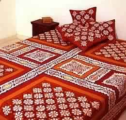 Applique Work Bedspread
