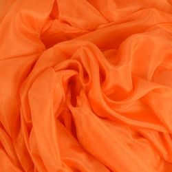 belly dance silk veil Orange