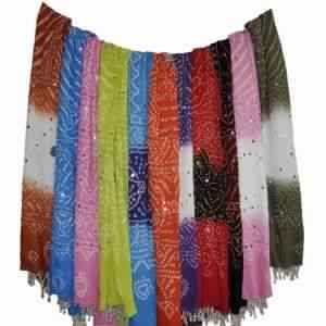 Bohemian Bandhani sarongs Scarves