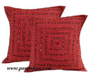 Bohemian Embroidered Cushion
