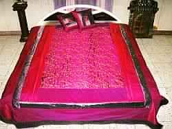 Decorative silk Bedspreads