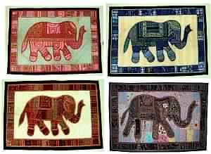 Elephant Motif Wall hangings
