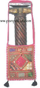 Ethnic patch work handbags