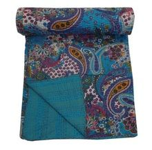 Indian Cotton Handmade Indian Kantha Quilt