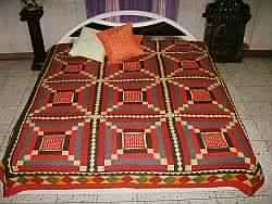 Patchwork Embroidered Bedsheets
