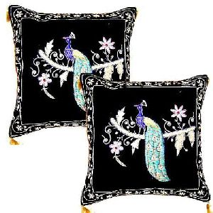 Velvet Gold and Silver cushion covers