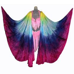 yard belly dance silk veil Dubai Night