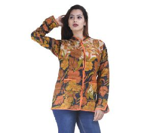 Cotton Kantha Jacket