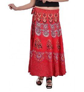 Cotton Hippie Mandala Long Skirt