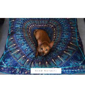 Cotton Pillow Throw, Bohemian Pillow Dog Bed Cover