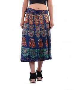Gypsy Decor Bohemian Mandala Skirt