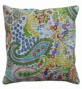 Handmade Cushion Cover Paisley Home Decor Hippie Indian Cotton Pillow Case
