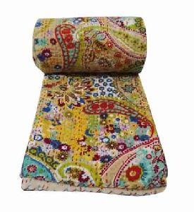 Reversible Indian Cotton Bedspread