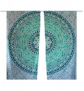 Roundie Charkha Wall Hanging Tapestry Sheet