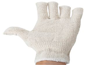 Cotton Knitted Seamless Glove