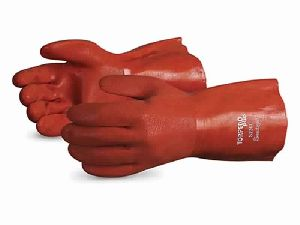 Pvc Chemical-resistant Glove