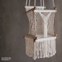 Macrame Baby Swing Hammock Chair