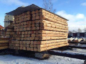 Square Wood Logs