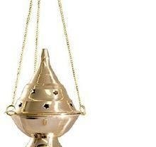 Brass Incense Burner Hanging