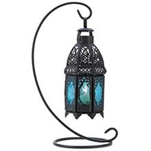 Moroccan Candle Lamp With Stand