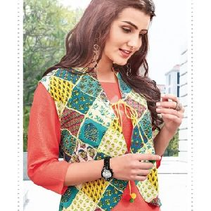 Fancy Jacket Style Kurti