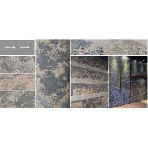 Indian Autumn Rustic Stone Thin Flexible Veneer Sheet