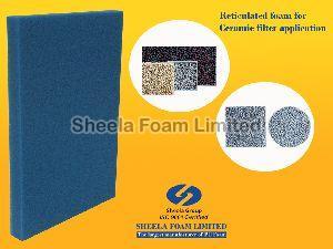 Ceramic Filter Reticulated Foam Sheets