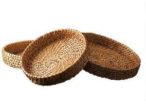 Bamboo Round Basket