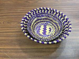 Fancy Bamboo Basket