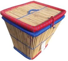Bamboo/cane Storage Box