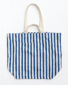 Striped Cotton Cloth Bags