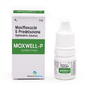 Moxifloxacin & Prednisolone Eye Drops